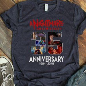 Official Jason Voorhees 35 Years Anniversary A Nightmare On Elm Street shirt