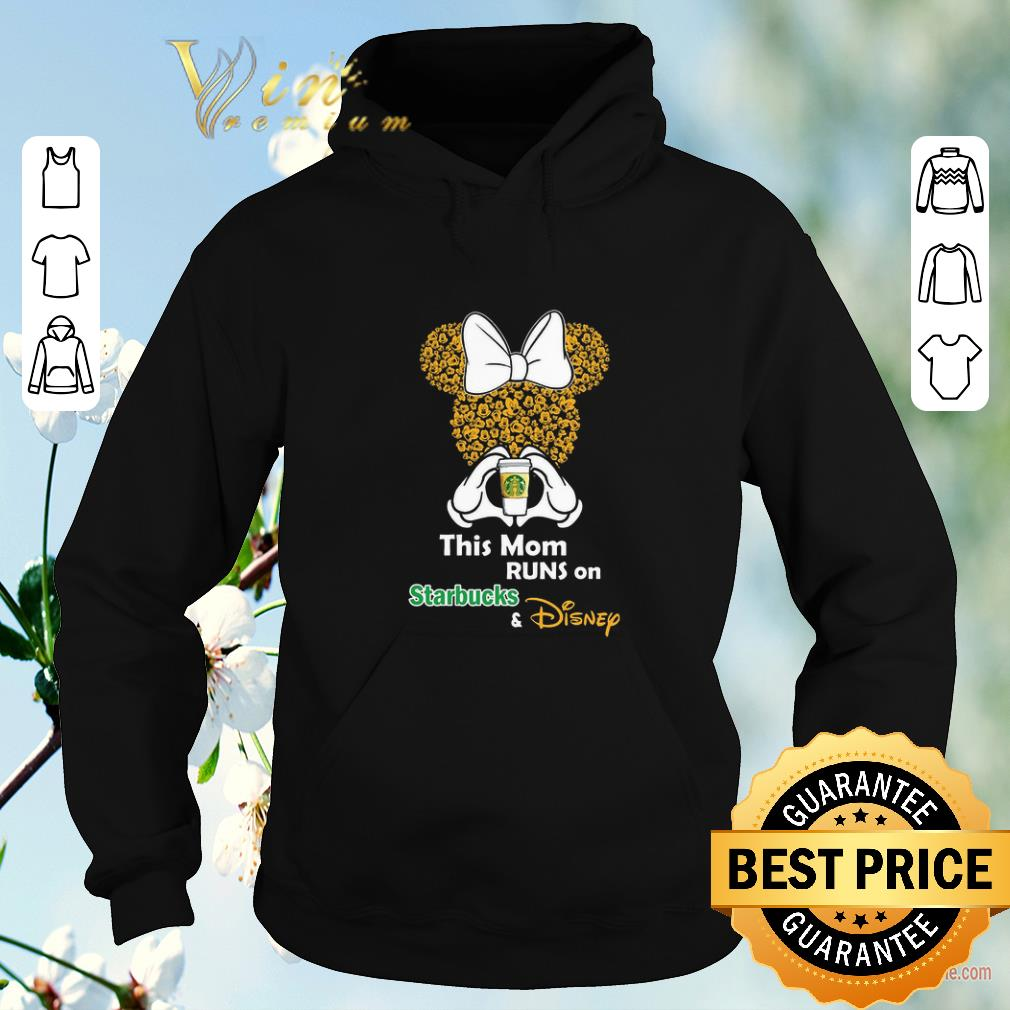 Official Minnie Mouse this mom runs on Starbucks Disney shirt sweater 4 1 - Official Minnie Mouse this mom runs on Starbucks & Disney shirt sweater