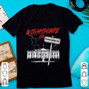 Official Nightmare on Pennsylvania Halloween Trump Costume Tee shirt