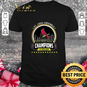Official St. Louis Cardinals 2019 NL Central Division Champions October shirt