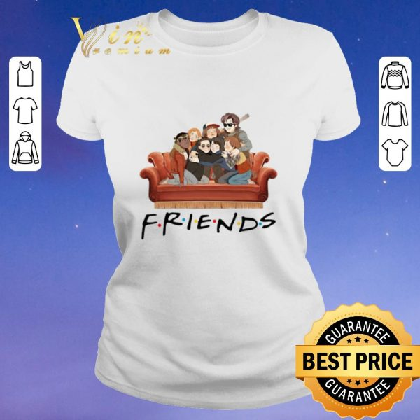 Original Characters Friends Stranger Things shirt