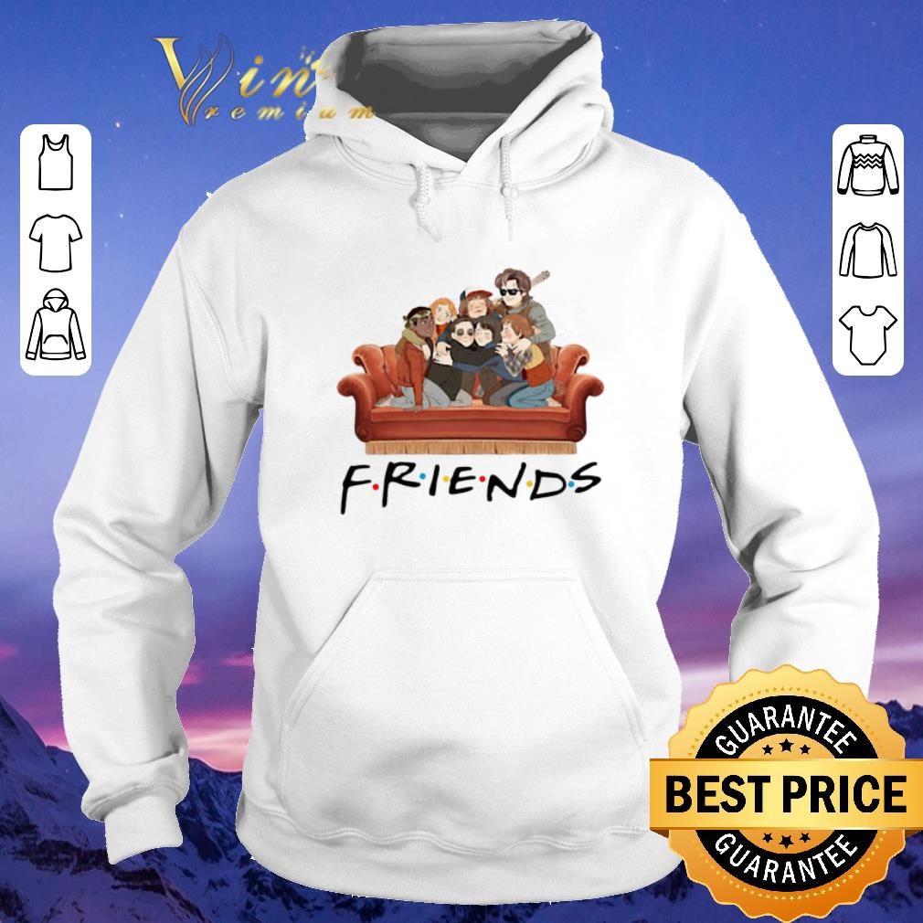 Original Characters Friends Stranger Things shirt 4 - Original Characters Friends Stranger Things shirt