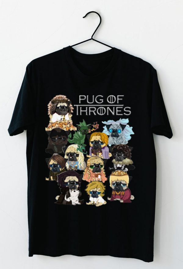 Original Game Of Thrones Pug Of Thrones shirt
