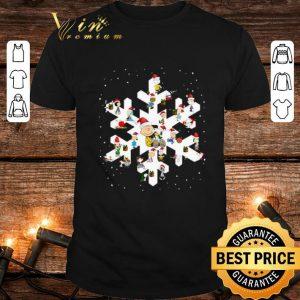 Peanuts Snowflakes Christmas shirt