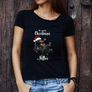 Premium All I Want For Christmas Is A Niffler shirt
