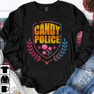 Premium Candy Police I Funny Halloween Adults shirt