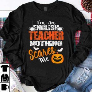 Premium English Teacher Funny Halloween shirt