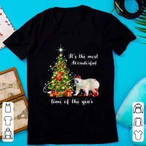 Premium It's The Most Wonderful Time Of The Year Bear Christmas Tree shirt