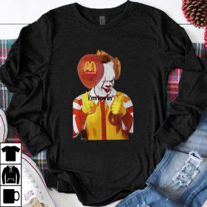Premium Pennywise It I'm Lovin' Halloween McDonald's shirt