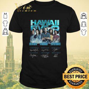 Premium Signatures Hawaii Five-0 2010-2019 9 Seasons 218 Episodes shirt