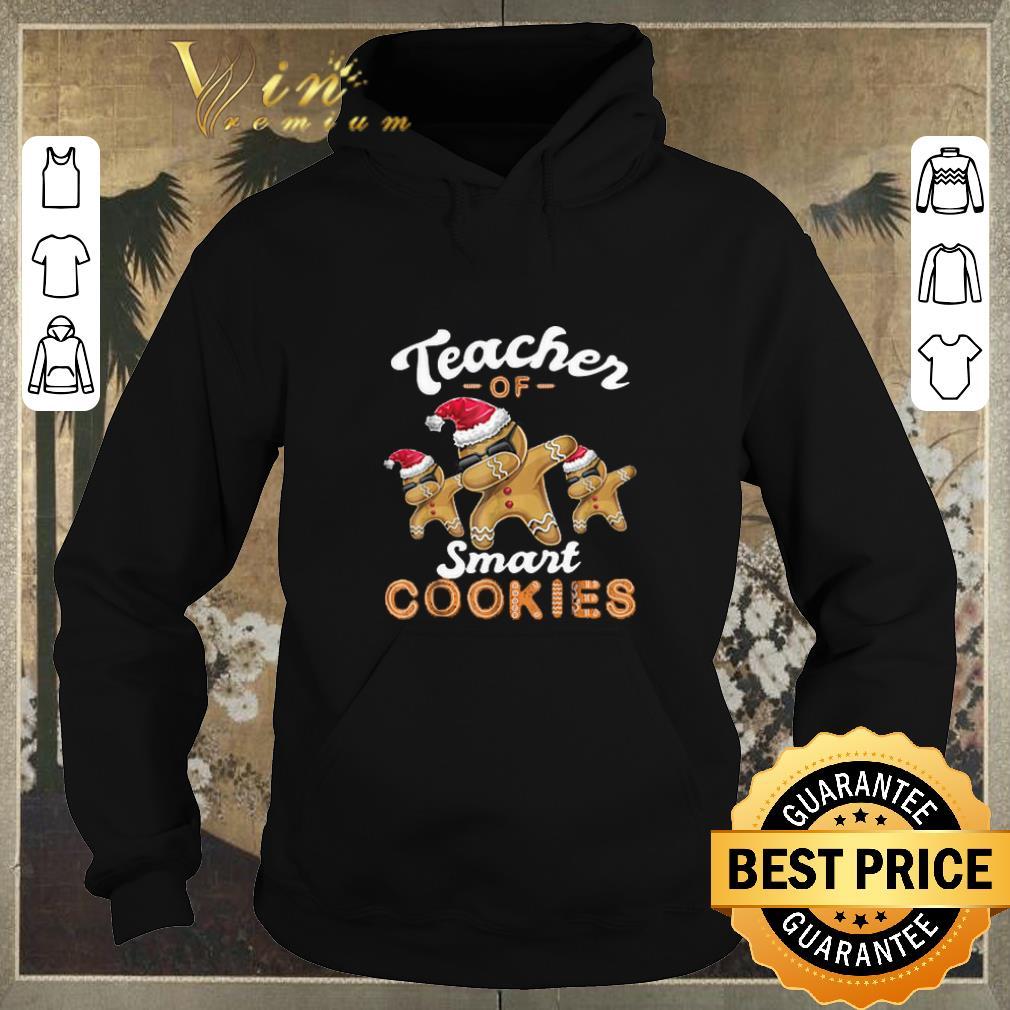Premium Teacher of Smart Cookies Dabbing Gingerbread Christmas shirt sweater 4 - Premium Teacher of Smart Cookies Dabbing Gingerbread Christmas shirt sweater