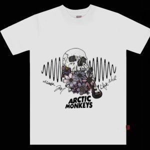Pretty Arctic Monkeys Rock Band Signatures shirt