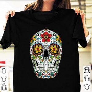 Pretty Day Of The Dead Sugar Skull Cinco De Mayo shirt