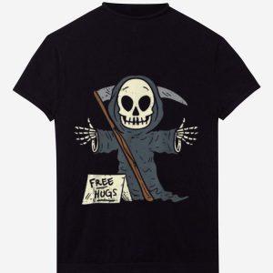 Pretty Free Hugs Grim Reaper Scary Funny Halloween Costume shirt