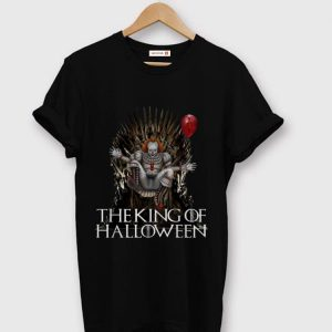 Pretty Pennywise The King Of Halloween Throne shirt