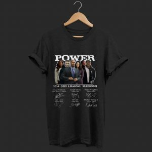 Pretty Power 2014 2019 6 Seasons Characters Signature shirt