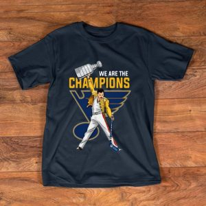 Pretty We Are Champions Freddie Mercury St. Louis Blues shirt