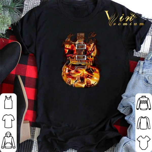 Signatures Judas Priest guitarist shirt
