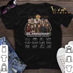 Signatures Outlander 05th Anniversary 2014-2019 shirt