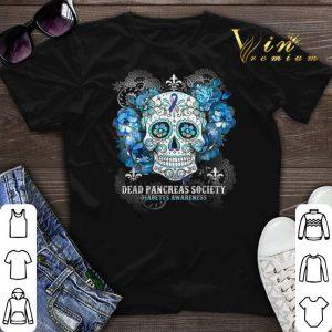 Sugar skull dead pancreas society Diabetes Awareness shirt sweater