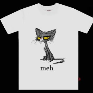 Top Cat Meh Funny Cat Lovers shirt