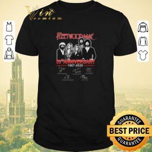Top Signatures Fleetwood Mac 53rd anniversary 1967-2020 shirt
