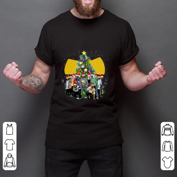 Top Simpsons Christmas Tree Wu Tang Clan shirt
