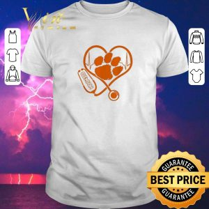 Top Stethoscope love Clemson Tigers shirt sweater