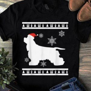 Awesome American Cocker Spaniel Dog Christmas Sweaters Dog Xmas shirt