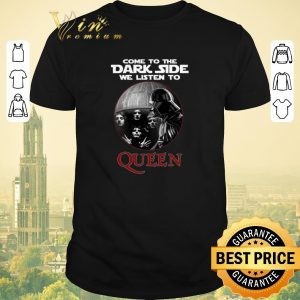 Awesome Darth Vader come to the dark side we listen to Queen shirt sweater