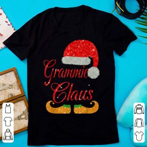 Awesome Grammie Claus Matching Family Group Christmas shirt