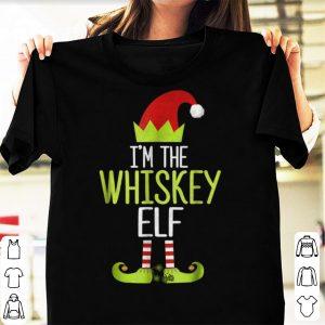 Awesome I'm The Whiskey Elf Christmas Family Elf Costume shirt