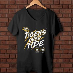 Awesome Lsu Tigers 46 Alabama 41 Tigers Over Tide shirt