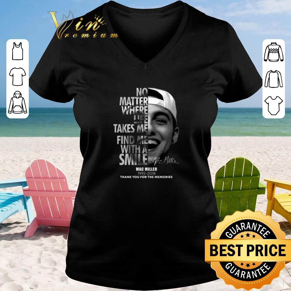 Awesome Mac Miller No matter where life takes me find me with a smile shirt sweater 2019 2 - Awesome Mac Miller No matter where life takes me find me with a smile shirt sweater 2019