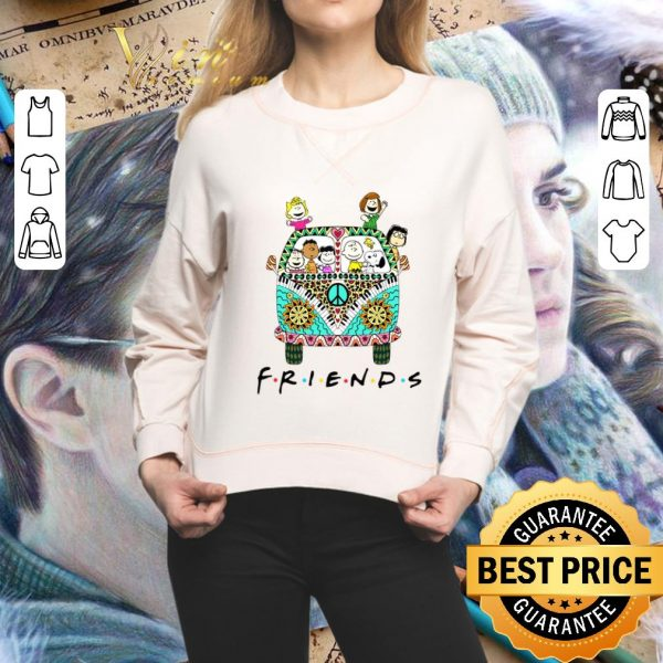 Awesome Peanuts Friends with Hippie bus shirt