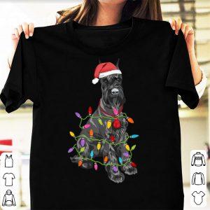 Awesome Schnauzer Dogs Tree Christmas Sweater Xmas Pet Animal Dog sweater