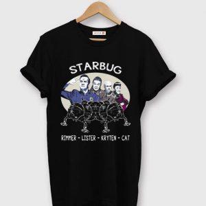 Awesome Starbug Red Dwarf Rimmer Lister Kryten Cat shirt