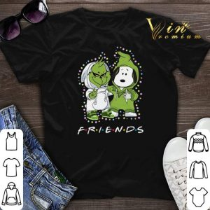 Baby Grinch and Snoopy Friends Christmas Light shirt sweater