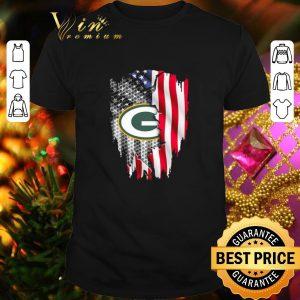 Best Green Bay Packers American flag shirt