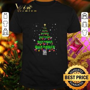 Best Iron Maiden Merry Xmax For All Chirstmas tree shirt