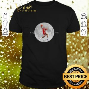 Best Michael Jordan and moon shirt