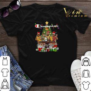 Champion LeBron James Kobe Bryant Michael Jordan Christmas shirt sweater