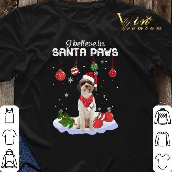 Christmas Lagotto Romagnolo i believe in Santa paws shirt