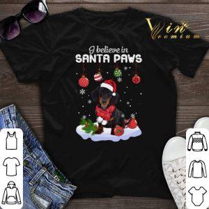 Dachshund i believe in Santa paws Christmas shirt