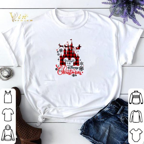 Disneyland dreaming of a Disney Christmas shirt sweater