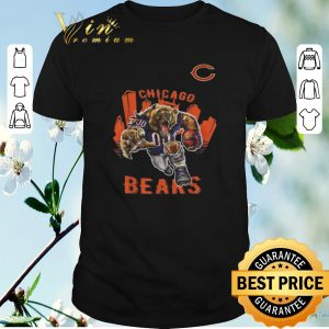 Funny Mean Game Face Chicago Bears shirt sweater