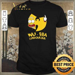 Funny Rick Sanchez Wu-Tang Clan Wu-Bba Lubba Dub Dub shirt sweater