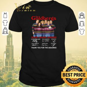 Funny Signatures The Goldbergs 2013 2019 thank you for the memories shirt
