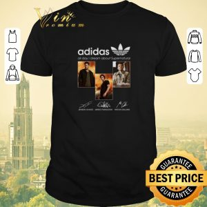 Funny Signatures adidas all day i dream about Supernatural shirt