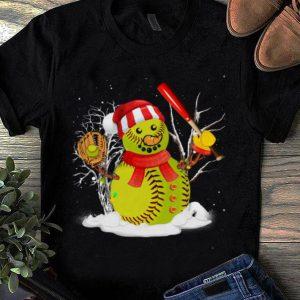 Great Christmas Baseball Player Santa Softball Lover shirt